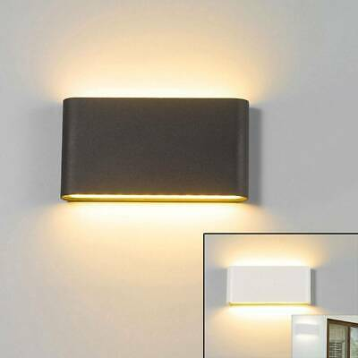 LED IP65 Wall Light Modern Indoor Outdoor Sconce Lamp Fixtures Hall Porch Decor
