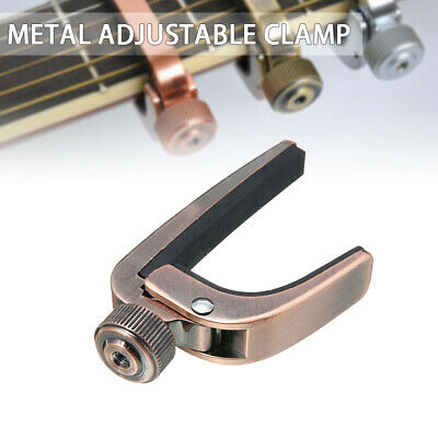A007J Guitar Clamp Key Capo Accessory For Acoustic Electric Guitar Quick Change