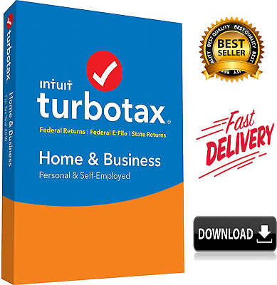 2018 TurboTax Home & Business 2018 Federal FAST DELIVERY