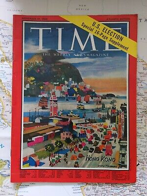 Time Magazine, November 21, 1960. HONG KONG.