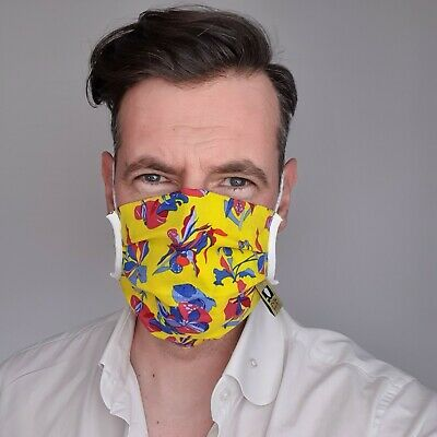 Breathable Mask Face Mouth Protect Your Family Outdoors Face Protect Yellow