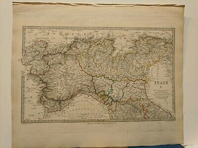 1832 SDUK: Map of Northern Italy