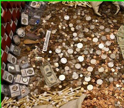 Estate Sale! 10 lots left. Rare coins & Silver Bullion Bars, key dates and Mints