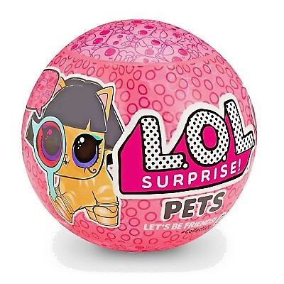 LOL SURPRISE Pets Eye Spy Series 4 wave 2 SEALED NEW RELEASE 2018 ~ 1 BALL