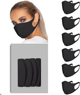 Face Mask Reusable Mask Washable Black Adult Mask UK Approved !!! ✅ UK Seller ⭐⭐
