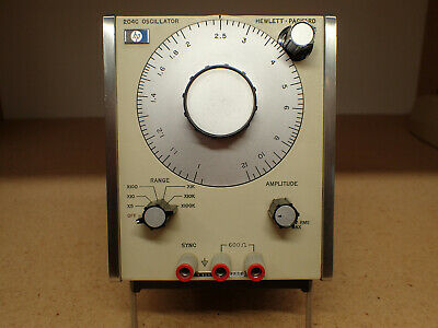 HP 204C Oscillator, excellent condition, tested