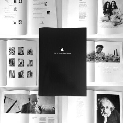Apple Book: 1998 The Year of Thinking Different - Foreword Steve Jobs