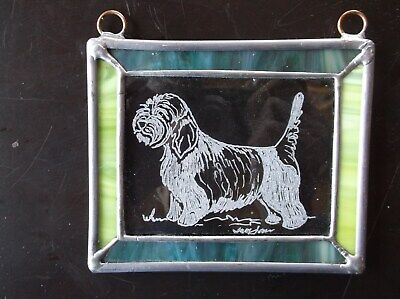 PBGV- Beautifully Hand Engraved Ornament by Ingrid Jonsson