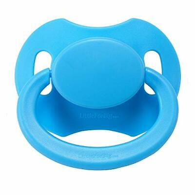 LittleForBig Bigshield gen-2 Adult Sized Pacifier Dummy for Adult Baby ABDL-Blue
