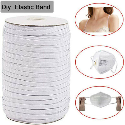 Round Flat Elastic Bungee Rope Shock String Stretchable Cord Dress Make Craft C7