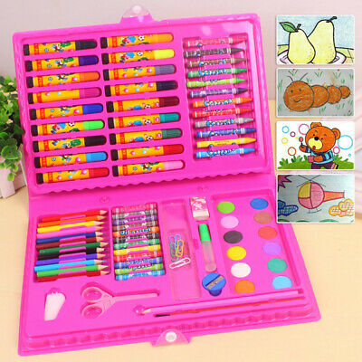 86Pcs/Set Colouring Pencils Set Drawing Artist Kids Therapy Painting Marker Pen