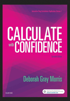 🔥✅ Calculate with confidence 7th Edition 🔥✅ P|D|F