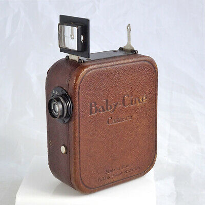 Vintage Pathé-Baby 9.5mm Cine Camera *GOOD WORKING CONDITION* |UK CAMERA DEALER