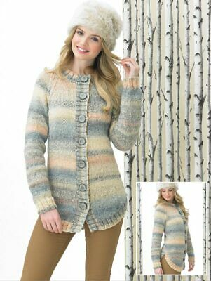Knitting Kit Marble chunky cardi JB287 with pattern and yarn