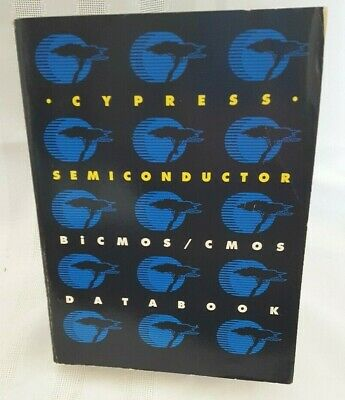 CMOS Data Book Cypress Semiconductor, 1991, 1st, Trade Paperback
