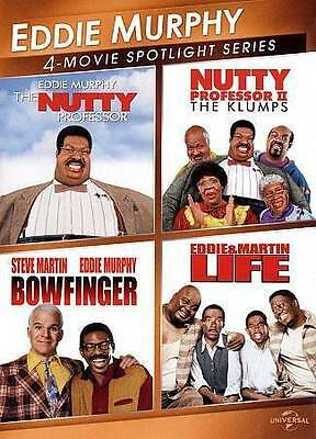 New Eddie Murphy 4 Movie spotlight Bowfinger Life Nutty Professor 1 2 Klumps