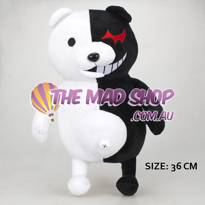 Au Stock - Danganronpa Monokuma Black & White Bear Plush 36Cm Free Shipping