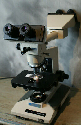 Olympus BH-2 Medical Microscope Dual Head Teaching 4 Objectives Many Accessories