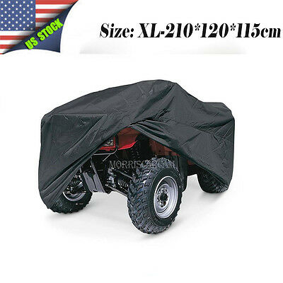 XL Waterproof ATV Cover Sun For Yamaha Raptor 250 350 50 660R 700 700R Quad Bike