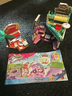 Shopkins Lego Set - Deluxe Food Court Plus Booklet