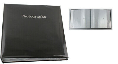 6'' x 4'' Memo Slipin Photo Album Holds 140 Photos Photography Storage - BLACK