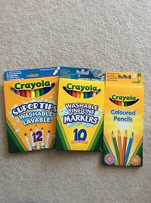 Crayola Felt Tips And Pencils Bundle