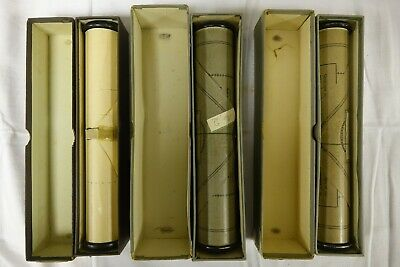 Piano or Pianola Rolls x3 - titles listed below                    (RET)