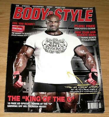Body & Style Bodybuilding Magazine - Ronnie Coleman Including Poster Winter 2007