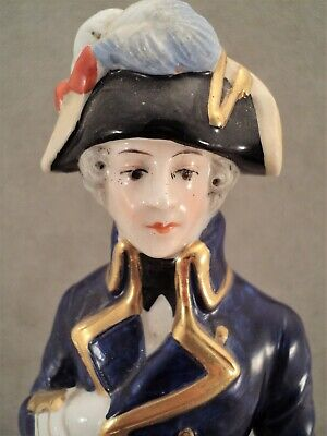 RARE versions Scheibe Alsbach porcelain figurine of Napoleon marshal NEY