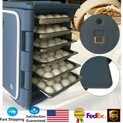 90L Hot Box Food Warmer Pizza Warmer Catering Hot Food Warmer Grey Food Grade