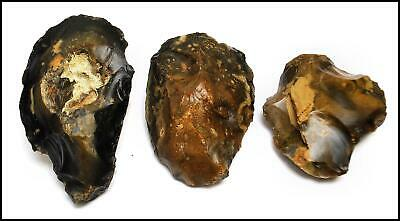 STONE AGE paleolithic mousterian ovate hand axes British neanderthal tools UK
