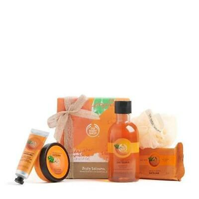 THE BODY SHOP Zesty Satsuma Pampering Essentials Pack - BRAND NEW