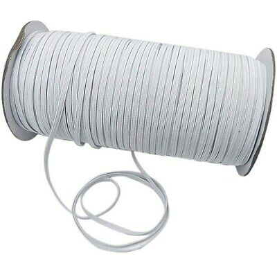 6mm Elastic Stretch Bands Flat Cord for Waist Sewing Clothing Trousers Lingerie