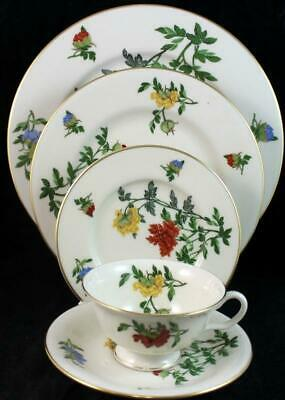 Castleton MA LIN 5 Piece Place Setting GREAT CONDITION