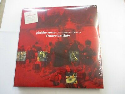 Franco Battiato - Giubbe Rosse - 2Lp Red Vinyl New Sealed 2020 - 30Th Anniv.
