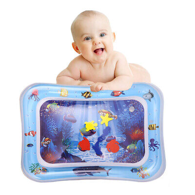 WO_ NEW Baby Inflatable Outdoor Cartoon Marine Creature Water Pad Tummy Time Pla