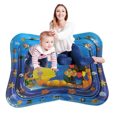 WO_ Inflatable Baby Water Mat Novelty Play for Kids Children Infants Tummy Time