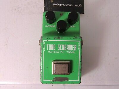 1981 Ibanez TS-808 Tube Screamer Overdrive Effects Pedal Vintage Original