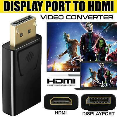 Display Port DP Male To HDMI Female Flat Adapter Connector Converter For HDTV PC