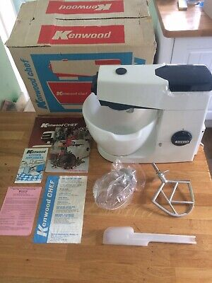 KENWOOD CHEF - A701a - Navy Blue Trim. New and Unused. 🏅👩🍳👨🍳🍞🍰