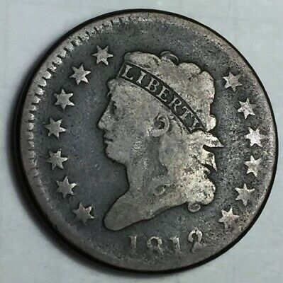 1812 Classic Head Large Cent Large Date
