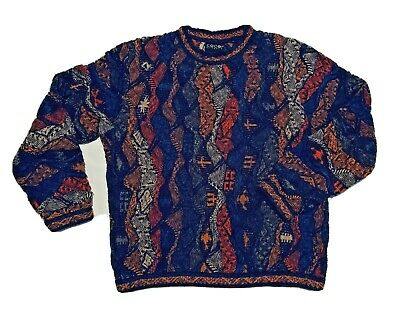 Coogi Authentic Sweater ~ Men's Large ~ Made in Australia ~ Cotton/Linen Blend