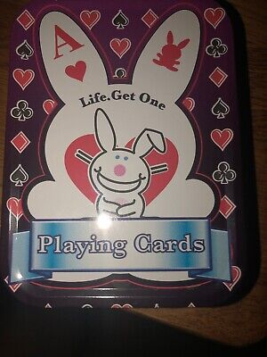 Happy Bunny Playing Cards
