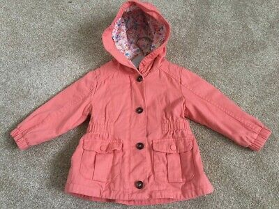 M&S Peach Girls Coat 1-2 years