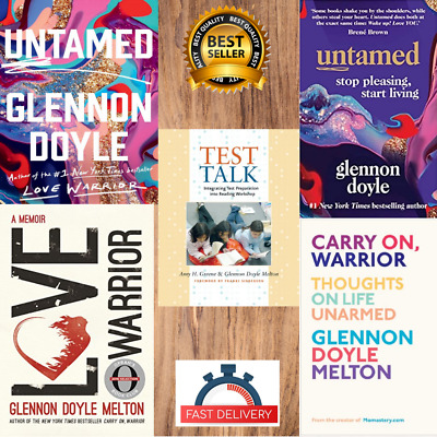 Glennon Doyle 2020 collection 🔥 Untamed ⚡ Love Warrior ✅ 5 P.D.F Book ✅