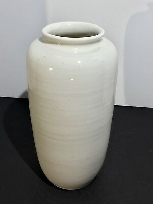 Chinese Blanc De Chine White Porcelain Kangxi Antique Lantern Vase 18th Century