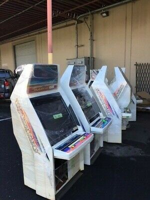 sega Blast city cabinet no game no lock 1P6B