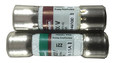 Combo pack: 1 piece DMM-11A DMM11 and 1 piece DMM-44/100 DMM 44 100 Digital Fuse
