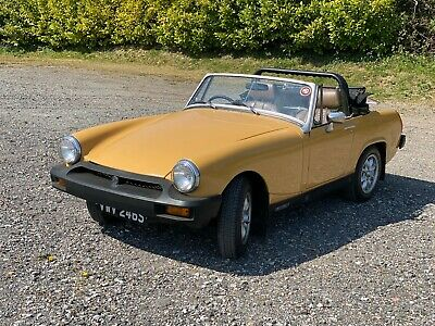 MG  Midget 1978  Very clean and tidy for its age and mileage