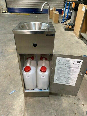 Mobile Sink With Hot Water - Mobile Sink Company
